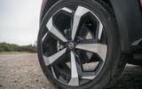 Nissan Juke 2020 road test review - alloy wheels