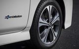 Nissan Leaf 2018 UK review alloy wheels