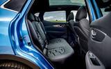 Nissan Qashqai road test review rear seats
