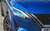5 Nissan Qashqai 2021 RT headlights