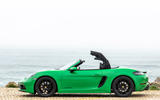 Porsche 718 Boxster GTS 4.0 2020 road test review - roof