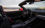 Porsche 911 Speedster 2019 review - cabin