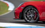 Porsche 718 Cayman GT4 2019 road test review - alloy wheels