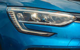 5 Renault Megane E Tech PHEV road test 2021 headlights