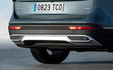 Seat Tarraco 2018 review - rear bumper