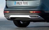 Seat Tarraco 2018 review - rear bumper