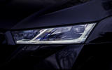 5 Skoda Octavia vRS TDI 2021 road test review headlights