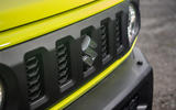 Suzuki Jimny 2018 road test review - front grille