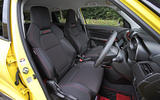 Suzuji Swift Sport Japan-spec review interior