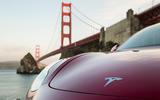 Tesla Model 3 2018 road test review bonnet