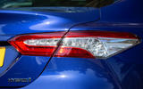 Toyota Camry 2019 review - rear lights