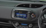 Toyota Yaris GRMN infotainment