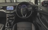 Vauxhall Astra 2019 road test review - dashboard