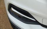 Vauxhall Grandland X Hybrid4 2020 road test review - front bumper