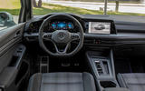 Volkswagen Golf GTE 2020 road test review - dashboard
