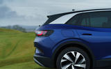 5 volkswagen id 4 2021 uk first drive review rear end