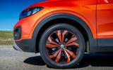 Volkswagen T-Cross 2019 review - alloy wheels