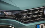 Volkswagen T-Roc Cabriolet 2020 road test review - R line badge
