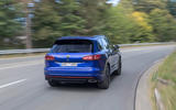 Volkswagen Touareg R road test review - cornering rear