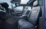 Volkswagen Touareg R road test review - front seats