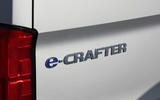 Volkswagen e-Crafter 2018 review - rear badge