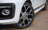 Volkswagen Up GTI 2018 review wheels
