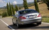 Mercedes-Benz CLS 350 CDI rear