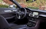 Mercedes CLS 350 CDI interior