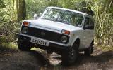 Lada Niva off-roading