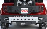 Land Rover Defender DC100 rear diffuser