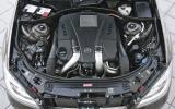 Merc's new V6 and V8 engines
