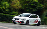 Renault Megane RS Trophy-R 2019 road test review - on the road left