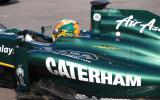 Caterham enters F1