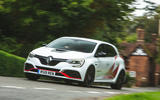 Renault Megane RS Trophy-R 2019 road test review - cornering nose
