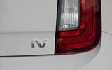 SKoda Citigo-e IV 2020 road test review - rear lights