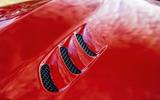 Alfa Romeo Stelvio Quadrifoglio 2019 road test review - bonnet vent