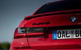 Alpina B3 2020 road test review - rear lights