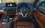 Alpina D5 S review driving position