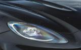 Aston Martin DBX 2020 road test review - headlights