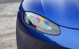 Aston Martin Vantage 2018 review headlights
