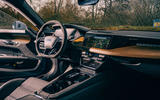 6 audi e tron gt 2021 lhd uk first drive review cabin 0
