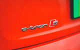 6 Audi E Tron S 2021 RT rear badge