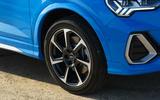 Audi Q3 Sportback 2019 road test review - alloy wheels