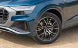 Audi Q8 50 TDI Quattro S Line 2018 road test review - alloy wheels
