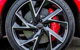 Audi RS Q3 2020 road test review - alloy wheels
