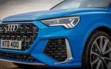 Audi RS Q3 Sportback 2020 road test review - front bumper