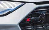 Audi RS6 Avant 2020 road test review - front badge