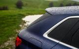 Audi S3 Sportback 2020 road test review - rear pillar