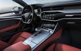 Audi S7 Sportback TDI 2020 road test review - dashboard