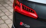 Audi SQ5 TDI 2020 road test review - rear lights